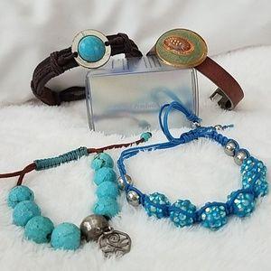4 Boho Style bracelet's